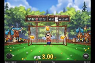 Hugo Goal Slot Free Kick Bonus