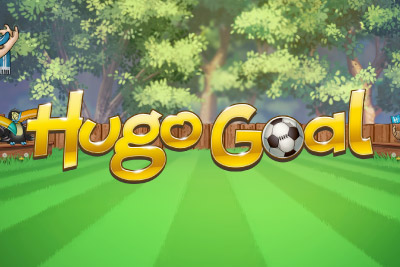 Hugo Goal Mobile Slot Logo