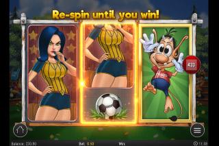 Hugo Goal Slot Re-spins