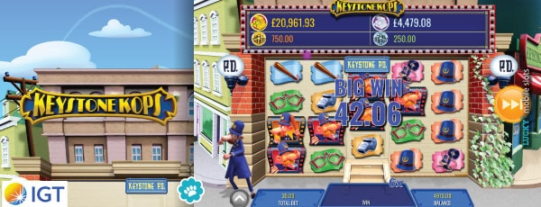 IGT Keystone Kops Slot On Mobile