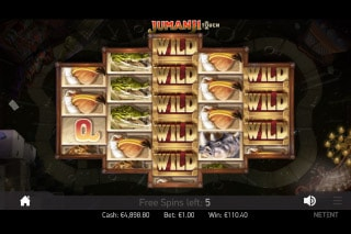 Jumanji Slot Free Spins With Wilds
