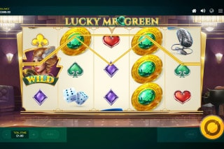 Lucky Mr Green Mobile Slot Game