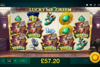 Lucky Mr Green Slot Wilds Win
