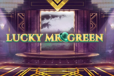 Lucky Mr Green Mobile Slot Logo