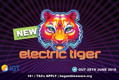 New Electric Tiger Mobile Slot Game