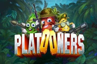 Platooners Mobile Slot Logo