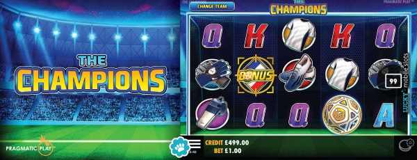 Pragmatic Play The Champions Slot Game