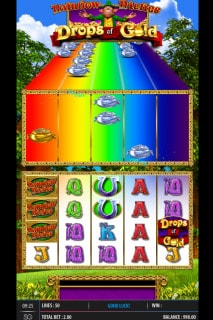 Rainbow Riches Drops Of Gold Mobile Slot