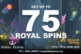 Get Up To 75 Royal Panda Witchcraft Academy Spins