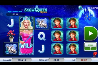 Snow Queen Riches Slot Free Spins