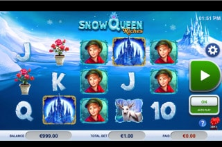Snow Queen Riches Mobile Slot Game