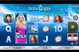 Snow Queen Riches Slot With Wild Reel
