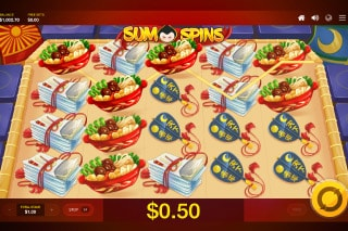 Sumo Spins Mobile Slot Machine