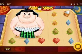Red Tiger Sumo Spins Slot With Wilds