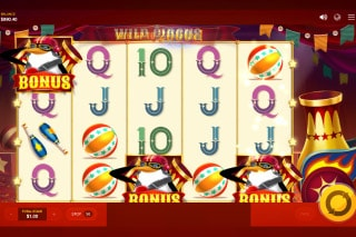 Wild Circus Mobile Slot Machine