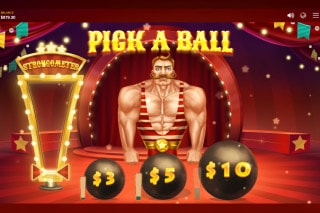 Wild Circus Slot Pick Me Bonus