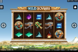Wild Scarabs Mobile Slot Machine