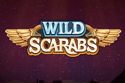 Wild Scarabs Mobile Slot Logo