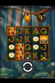 Wild Swarm Mobile Slot Game