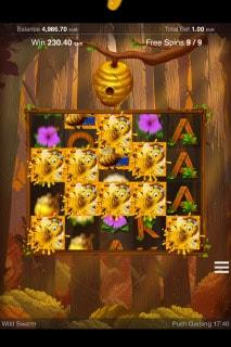 Wild Swarm Slot Free Spins