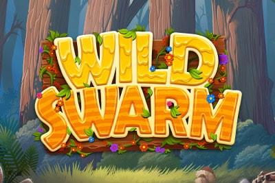 Wild Swarm Mobile Slot Logo