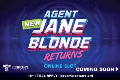 Agent Jane Blond Returns Slot Machine Coming Soon