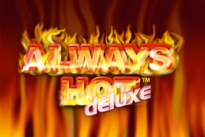 Always Hot Deluxe Mobile Slot Logo