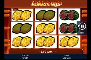 Always Hot Deluxe Mobile Slot Win