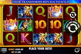 Asgard Mobile Slot Machine