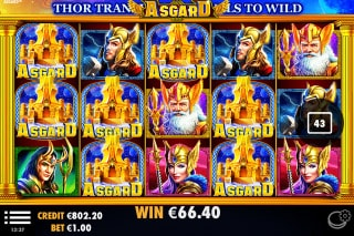 Asgard Mobile Slot Wild Win