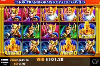 Asgard Mobile Slot Game