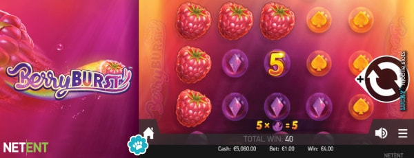 Berryburst Slot Game By NetEnt