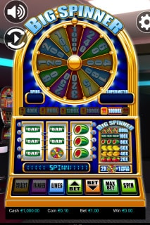 Big Spinner Mobile Slot Machine