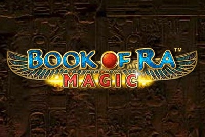 Book of Ra Magic Mobile Slot Logo