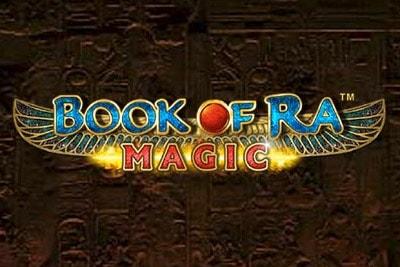 Book of Ra Magic Mobile Slot Logo