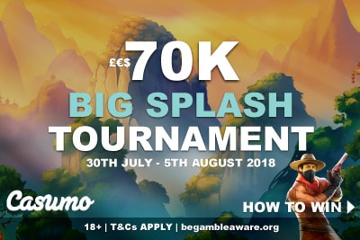 Casumo Casino Big Splash Tournament