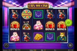 Cats And Cash Mobile Slot Machine