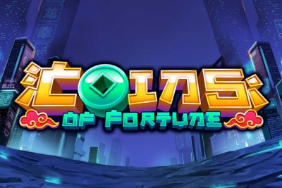 Coins Of Fortune Mobile Slot Logo