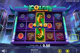 Coins Of Fortune Slot Wild Reel