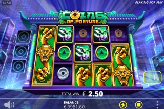Coins Of Fortune Slot Win