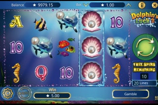 Dolphins Luck 2 Mobile Slot Free Spins