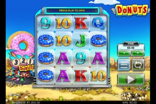 Donuts Mobile Slot Machine