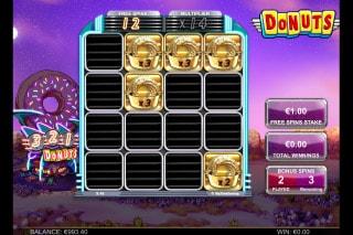 Donuts Mobile Slot Bonus