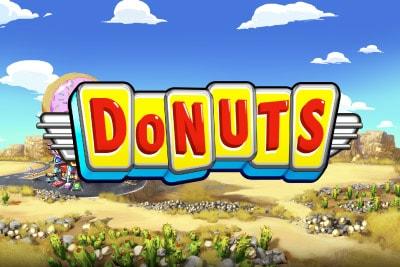 Donuts Mobile Slot Logo