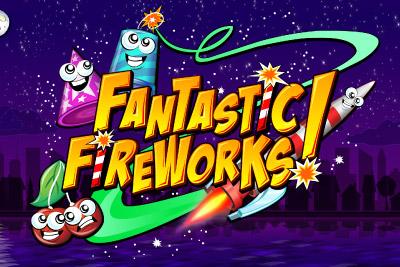 Fantastic Fireworks Mobile Slot Logo