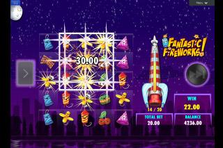 Fantastic Fireworks Mobile Slot Win