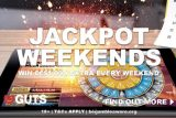 Guts Casino Jackpot Weekends Offer