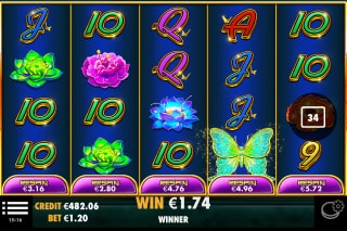 Jade Butterfly Mobile Slot Free Spins