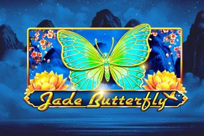 Jade Butterfly Mobile Slot Logo