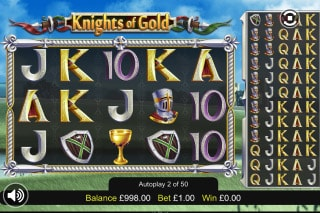 Knights Of Gold Mobile Slot Machine